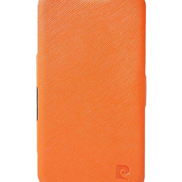 Folio Stand θήκη Pierre Cardin πορτοκαλί για Galaxy S4