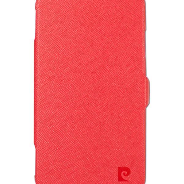 Folio Stand θήκη Pierre Cardin κοραλί για Galaxy S4