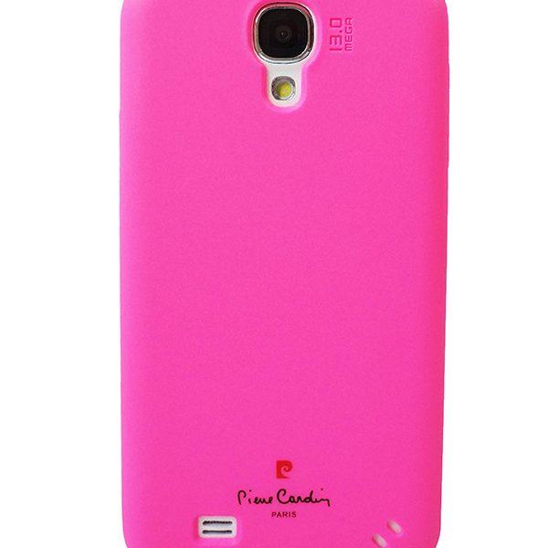 Solo cover Pierre Cardin ροζ για Samsung Galaxy S4