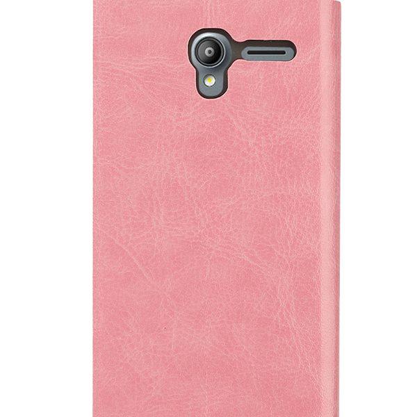 Θήκη Folio Stand PF ροζ για Vodafone Smart speed 6