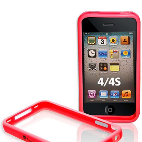 Bumper Pierre Cardin ροζ για iPhone 4/4s