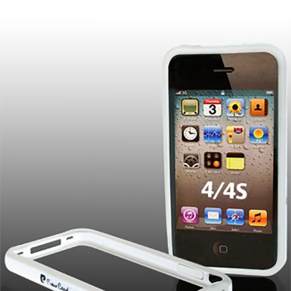 Bumper Pierre Cardin λευκό για iPhone 4/4s